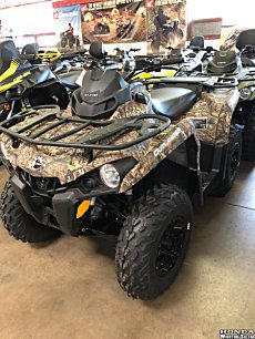2018 Can-Am Outlander 450 for sale 200502272